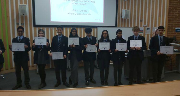 Brilliant Club Graduation at University of Sussex