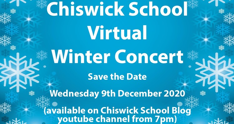 Virtual Winter Concert - Wednesday 9th December