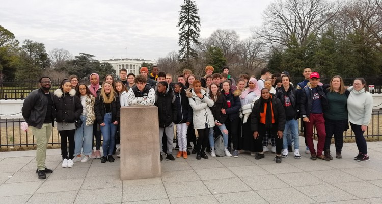 History & Politics A-level trip to the USA
