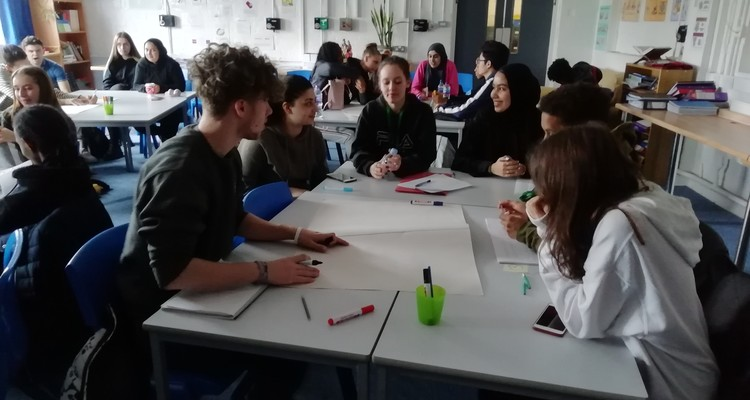 Philosophy students attend study day with Dr Peter Vardy