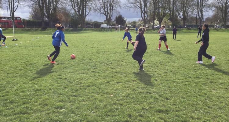 Junior Girls Football