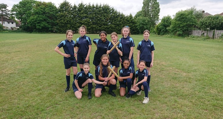 Year 7 Rounders Team
