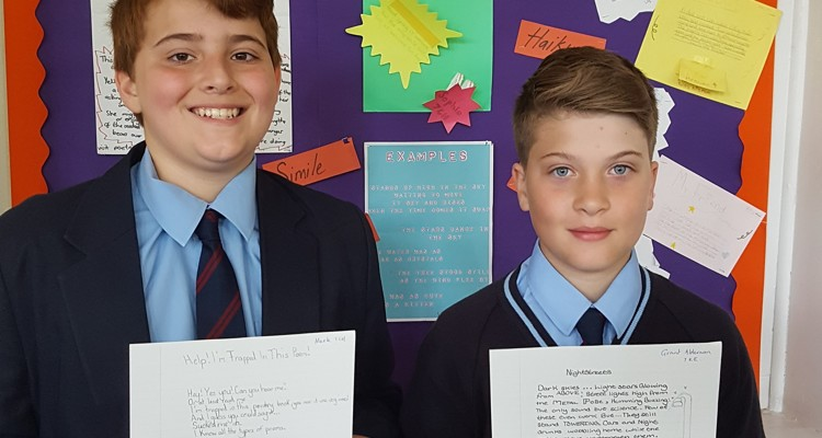 Chiswick School Win Poetry Prize!