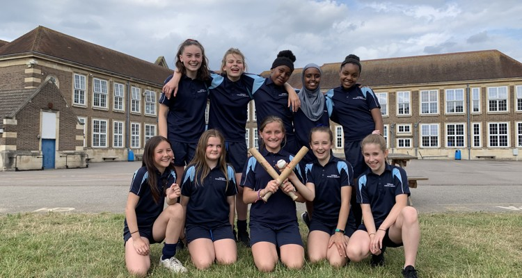 Year 7 Rounders Team Success