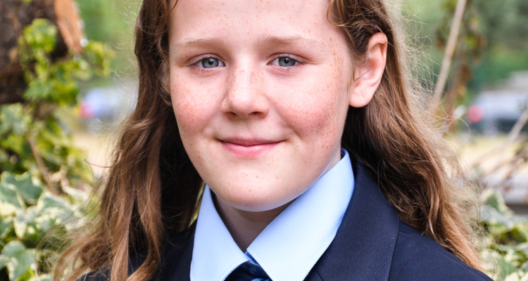 Meet our year 7 students - Annabel