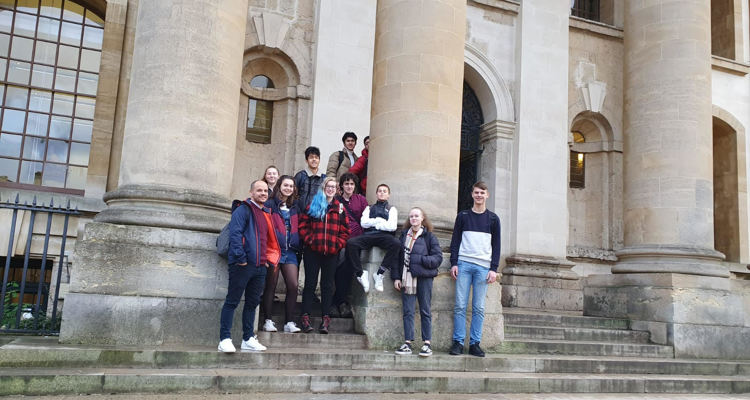 Year 12 Geography Trip to Cambridge University