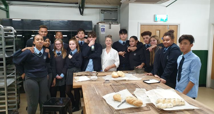 Year 11 trip to 'Bread Ahead Baker 'workshop and Borough Market