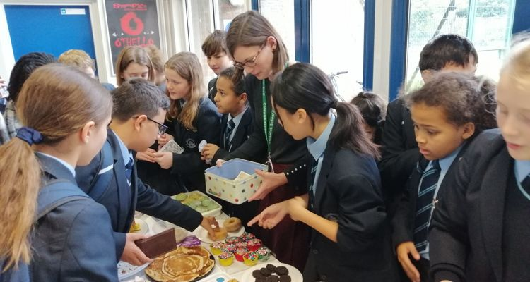 Year 7 cake sales for MIND
