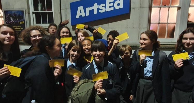 Arts Ed Theatre trip