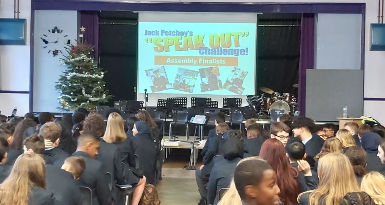 "Jack Petchey ""Speak Out"" Challenge! Workshops"