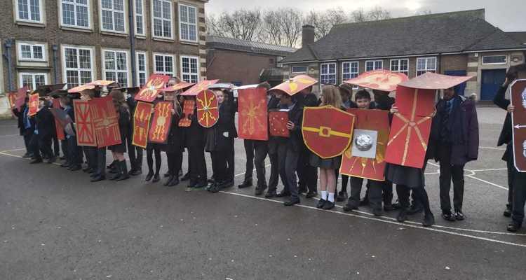 Year 7 Roman Battle